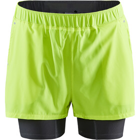 Craft ADV Essence 2-in-1 Stretch Shorts Heren, flumino